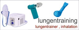 lungentraining + inhalation