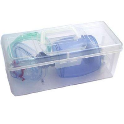 Blueline Transportbox für das Beatmungsbeutel-Set