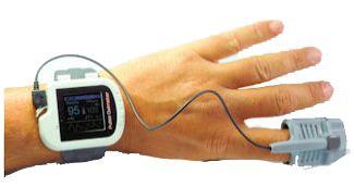 Handgelenk-Pulsoximeter UltraMed CMS50I USB