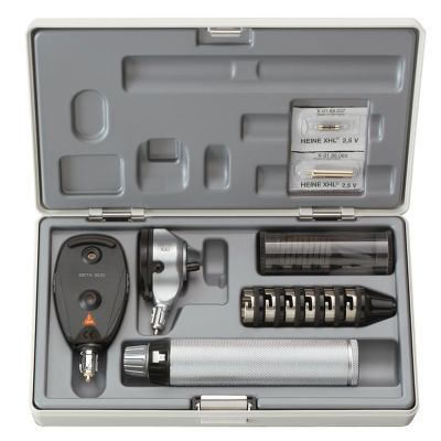 HEINE BETA® 100 Otoskop-Set Advanced Ladegriff 3,5V