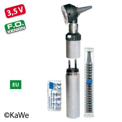 KaWe Otoskop - Eurolight® F.O.30 Otoskop | 3,5 V mit Ladestecker