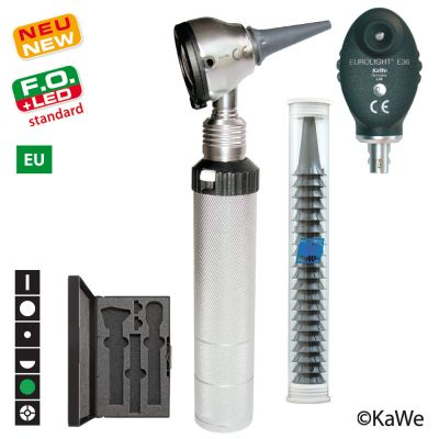KaWe - Eurolight® Diagnostik Set F.O.30 LED/E36 - 2,5 V