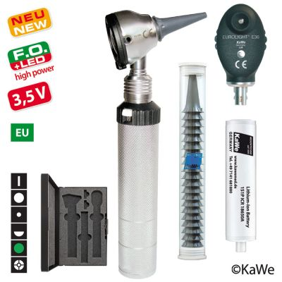 KaWe - Eurolight® Diagnostik Set F.O.30 LED/E36 - 3,5 V