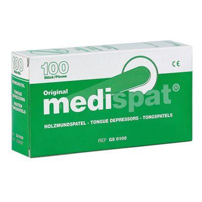 Holzmundspatel - Medispat® standard - im Dispenser