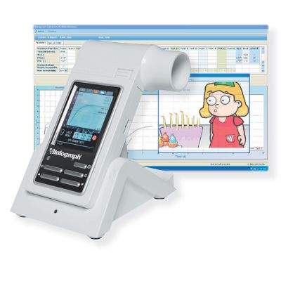 Vitalograph Spirometer In2itive&#8482 mit Reportsoftware