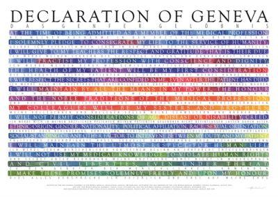 Declaration of Geneva English / Deutsch