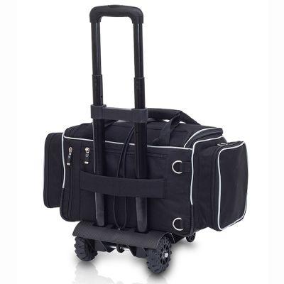 EliteBags MEDICS Softbag - Arzttasche mit Trolley