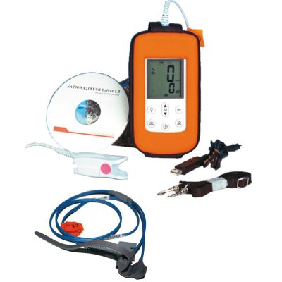 Neonatal Screening-Set - Pulsoximeter Rescue-Meter + Sensor