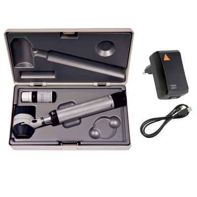 HEINE DELTA® 20T LED Dermatoskop-Set mit Griff