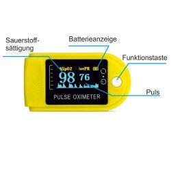 Finger-Pulsoximeter SuperMed - OLED
