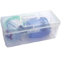 Transportbox für das Beatmungsbeutel-Set