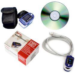 Finger-Pulsoximerter SuperMed-iX USB