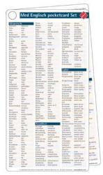 Medizinisches Englisch pocketcard Set