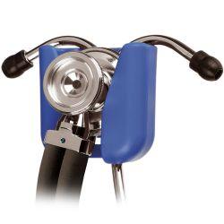 HipClip Stethoskophalter in schwarz /royalblau/pink