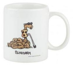 Cartoontasse Blinddarm