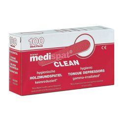 Holzmundspatel - Medispat® clean - im Dispenser