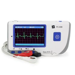 Pocket EKG Gerätmit Farb-Display