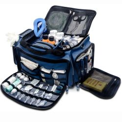 EliteBags MEDICS Softbag - Arzttasche - blau