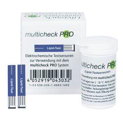 Multicheck PRO lipid Testsensoren - Lipid