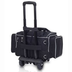 EliteBags MEDICS Softbag - Arzttasche mit Trolley