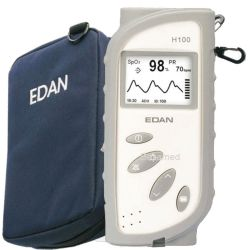 Handheld Pulsoximerter EDAN H100N mit Nellcor OciMAX