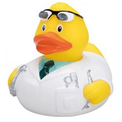 Quietsche-Ente Doktor Wackelzahn