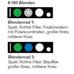 HEINE BETA® K180 Ophthalmoskop-Kopf 3,5V