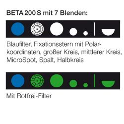 HEINE BETA® 200S Ophthalmoskop-Kopf 2,5V