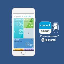 OMRON M700-intelli-IT Oberarm-Blutdruckmessgerät mit Bluetooth