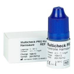 Harnsäure-Kontrollösung für Lifetouch Multicheck PRO