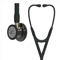 3M™ Littmann® Cardiology IV - High Polish Smoke Finish / Black / Champagne Stem