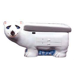Untersuchungstisch Eisbär