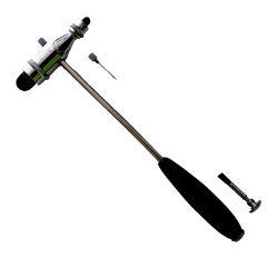 Reflexhammer nach Trömner mit Metallstiel und Kunststoffgriff